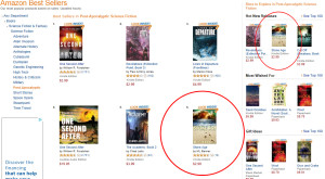 Now #6 on Amazon's Best Seller List for Post-Apocalyptic Fiction