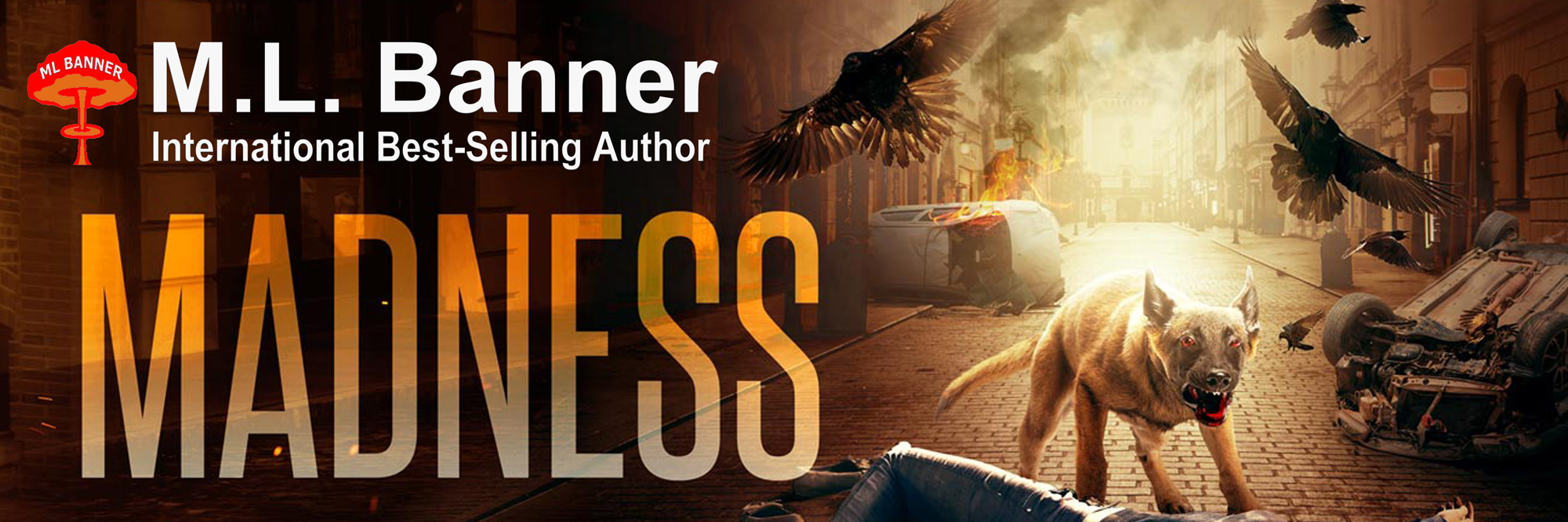 ML Banner – Author of Apocalyptic Thrillers